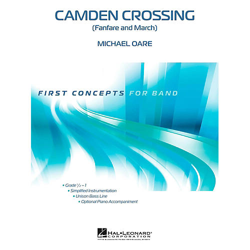 Hal Leonard Camden Crossing - First Concepts (Concert Band)  Level .5-thumbnail