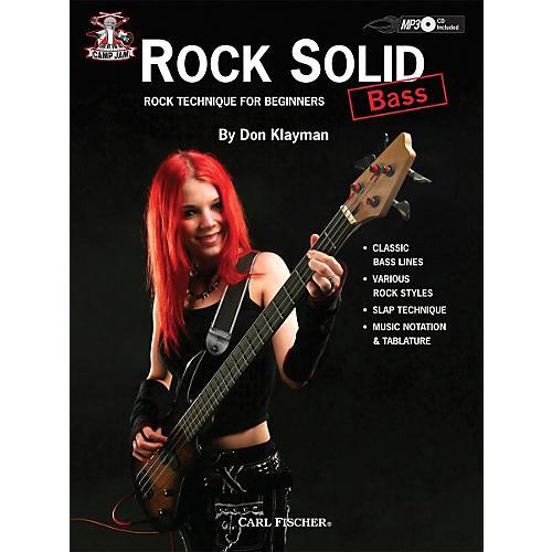 Carl Fischer Camp Jam: Rock Solid for Bass Book/CD