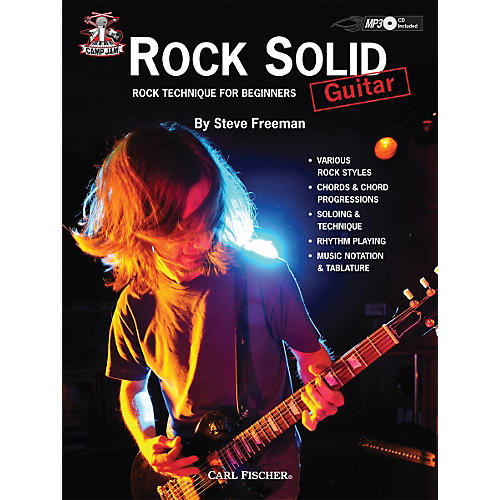 Carl Fischer Camp Jam: Rock Solid for Guitar Book/CD-thumbnail