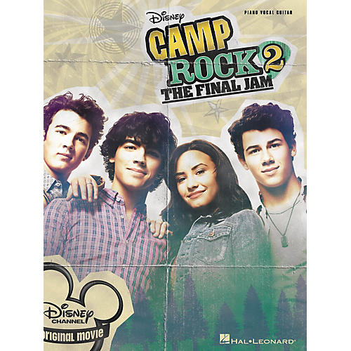 Hal Leonard Camp Rock 2 - The Final Jam PVG Songbook-thumbnail