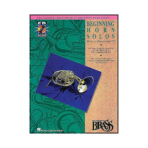 Hal Leonard Canadian Brass Beginning Horn CD Package-thumbnail