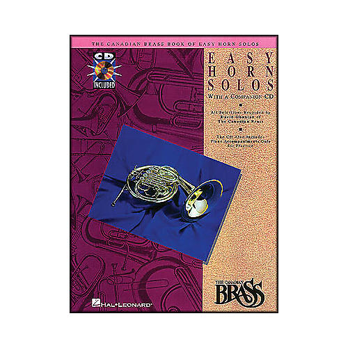 Hal Leonard Canadian Brass Book Of Easy Horn Solos Book/CD-thumbnail