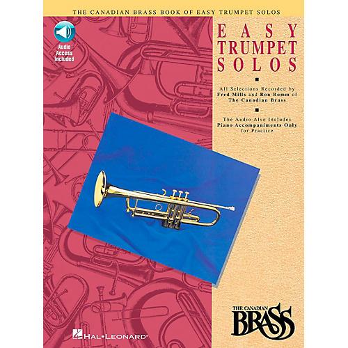 Hal Leonard Canadian Brass Easy Trumpet Book/CD-thumbnail