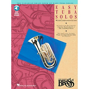 Hal Leonard Canadian Brass Easy Tuba Book/CD