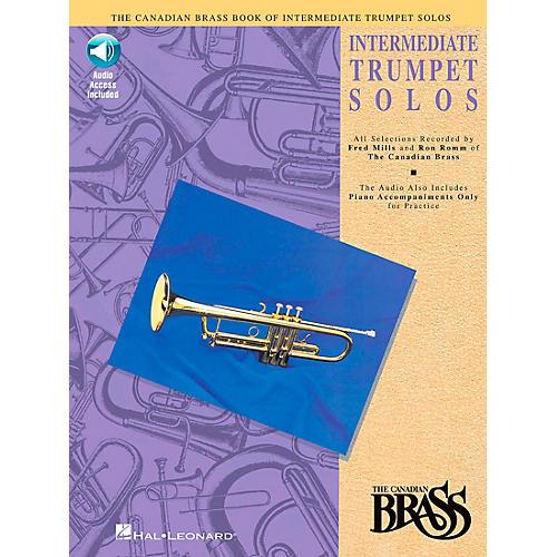 Hal Leonard Canadian Brass Intermediate Trumpet Solo Book/CD-thumbnail
