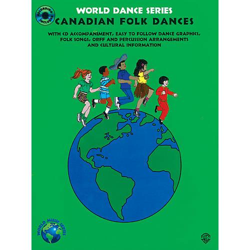 Alfred Canadian Folk Dances Book & CD Grades 2-7