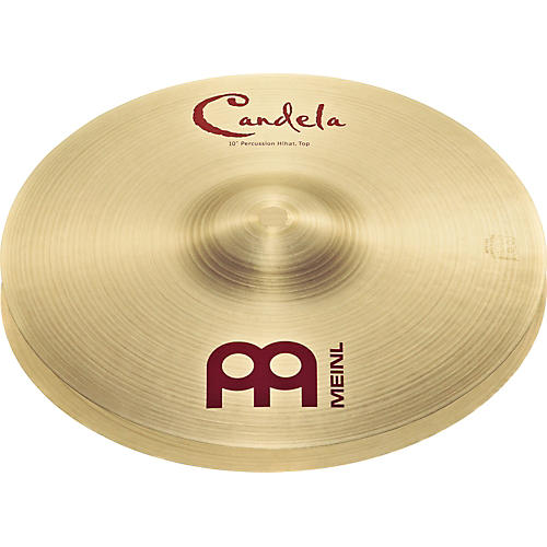 Meinl Candela Percussion Hi-hats 10 in.