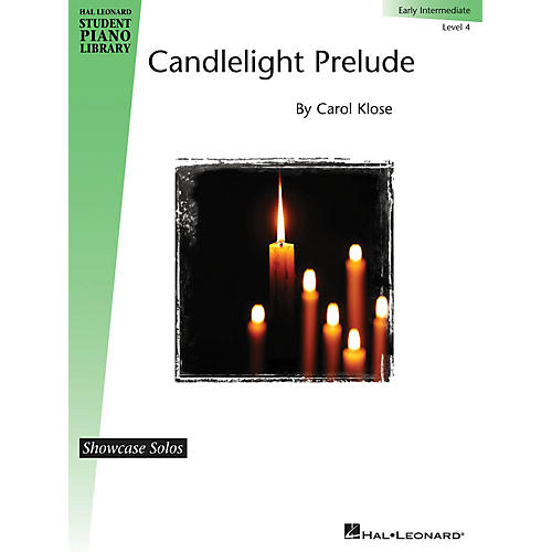 Hal Leonard Candlelight Prelude Piano Library Series by Carol Klose (Level Early Inter)