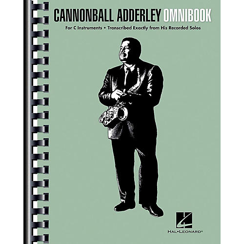 Hal Leonard Cannonball Adderley - Omnibook for C Instruments-thumbnail