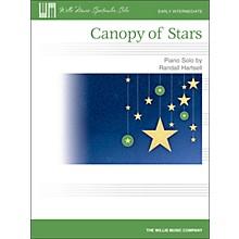 Willis Music Canopy Of Stars - Early Intermediate Piano Solo Sheet