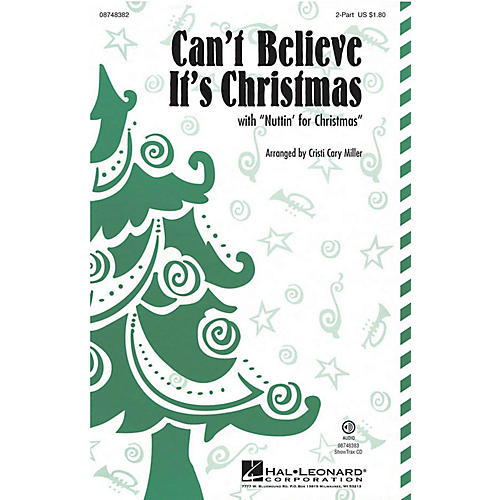 Hal Leonard Can't Believe It's Christmas ShowTrax CD by VeggieTales Arranged by Cristi Cary Miller