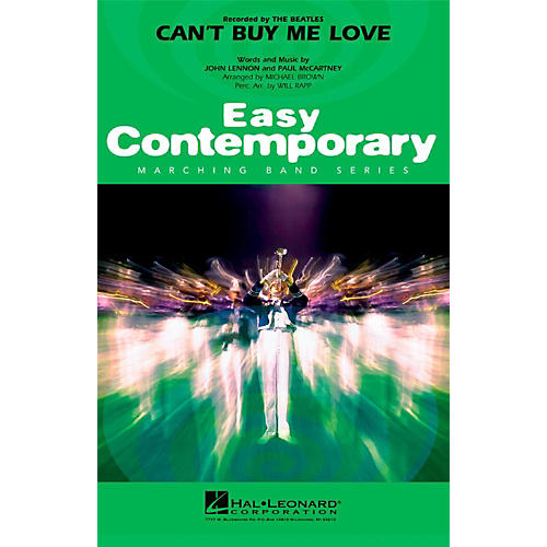 Hal Leonard Can't Buy Me Love - Easy Pep Band/Marching Band Level 2-thumbnail