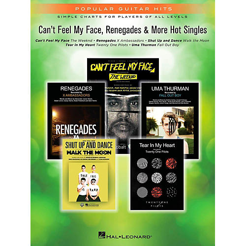Hal Leonard Can't Feel My Face, Renegades & More Hot Singles for Easy Piano-thumbnail