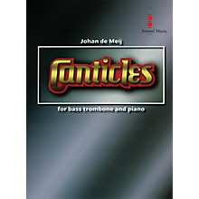 Amstel Music Canticles for Bass Trombone & Wind Orchestra (Score and Parts) Concert Band Level 4-5 by Johan de Meij