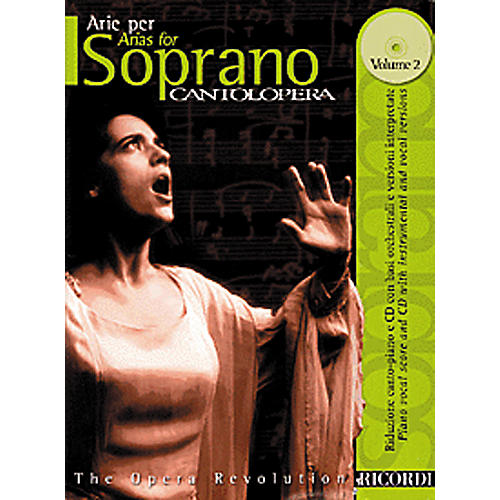 Hal Leonard Cantolopera Arias for Soprano - Volume 2 Book/CD