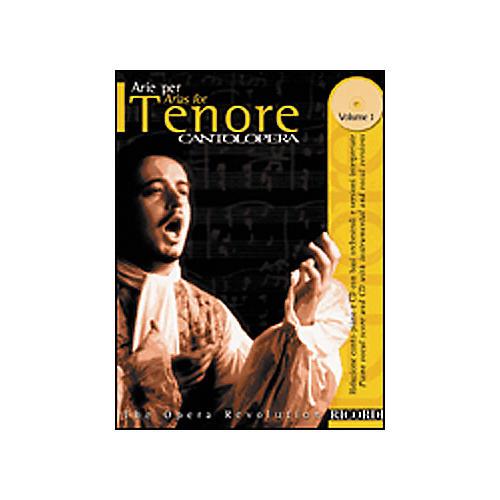 Hal Leonard Cantolopera Arias for Tenor - Volume 1 Book/CD