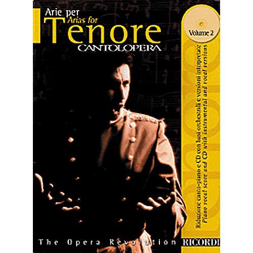 Hal Leonard Cantolopera Arias for Tenor - Volume 2 Book/CD-thumbnail