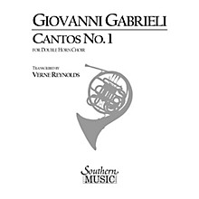Southern Cantos No. 1 (Archive) (Horn Choir) Southern Music Series Arranged by Verne Reynolds