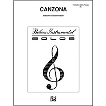 Alfred Canzona - Eighth Note Publications Series