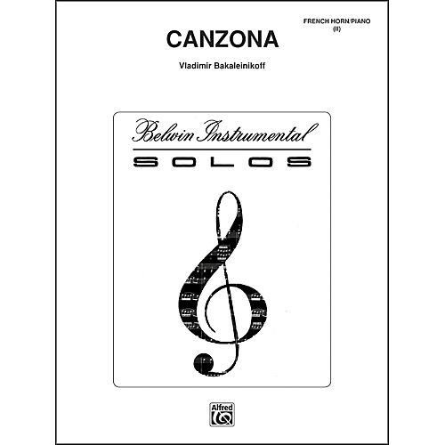 Alfred Canzona - Eighth Note Publications Series-thumbnail