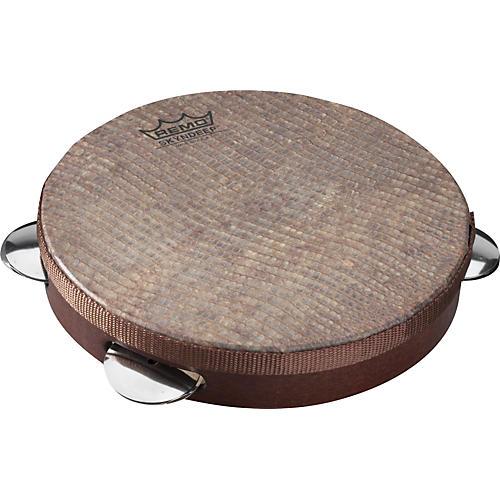 Remo Capoeira Pandeiro Snake Skin 10 In x 1.78 In