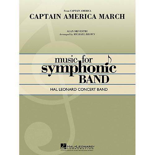 Hal Leonard Captain America March - Hal Leonard Concert Band Series Level 4-thumbnail