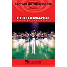 Hal Leonard Captain America March Marching Band Level 3 Arranged by Paul Murtha