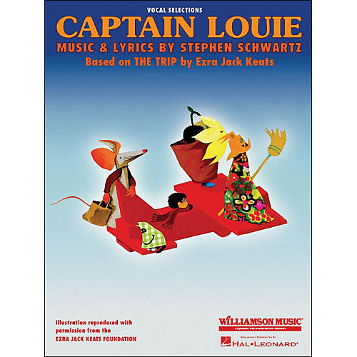 Hal Leonard Captain Louie Vocal Selections arranged for piano, vocal, and guitar (P/V/G)-thumbnail