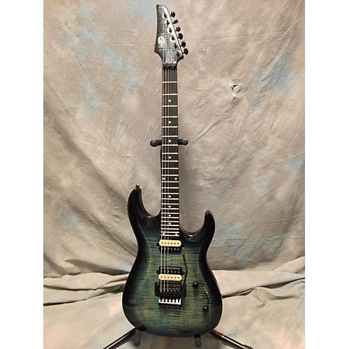 ZeroGravity Caravelle FM6FR Solid Body Electric Guitar-thumbnail