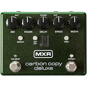 MXR Carbon Copy Deluxe Analog Delay Pedal by MXR