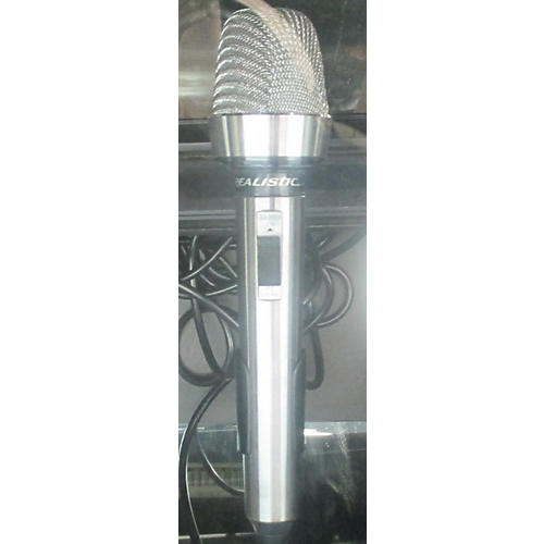 Realistic Cardioid Microphone Dynamic Microphone