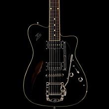 Duesenberg Caribou Tremolo Semi-Hollow Electric Guitar Black