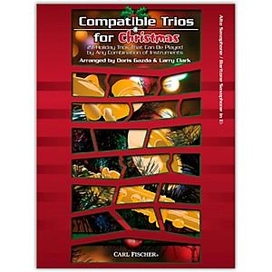 Carl Fischer Carl Fischer Compatible Trios For Christmas � Alto/Bariton Sax... by Carl Fischer