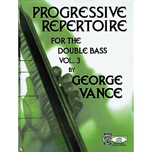 Carl Fischer Carl Fischer Progressive Repertoire For The Double Bass Vol. T... by Carl Fischer