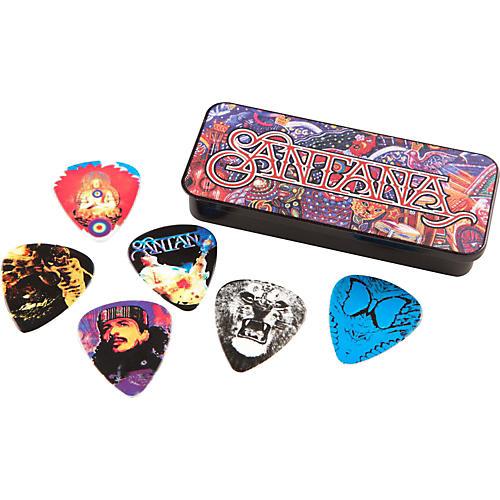 Dunlop Carlos Santana Pick Tin with 6 Picks-thumbnail