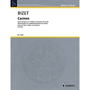 Schott Carmen Ensemble Series Softcover Composed by Georges Bizet Arranged by Siegfried Schwab