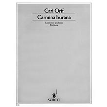 Schott Carmina Burana (Score) Schott Series