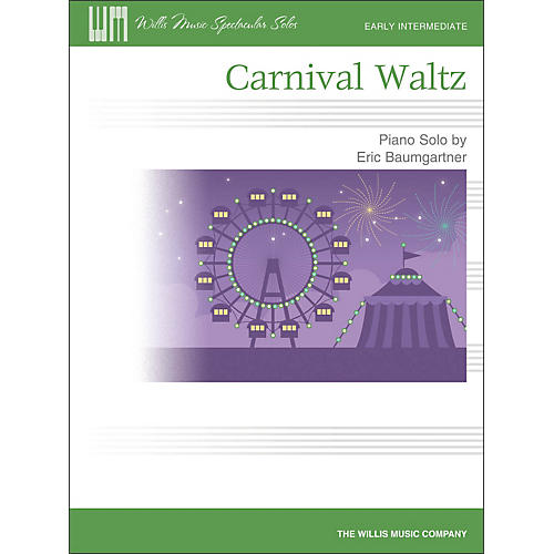 Willis Music Carnival Waltz - Early Intermediate Piano Solo Sheet-thumbnail