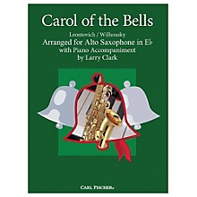 Carl Fischer Carol Of The Bells - Alto Sax With Piano Accompaniment