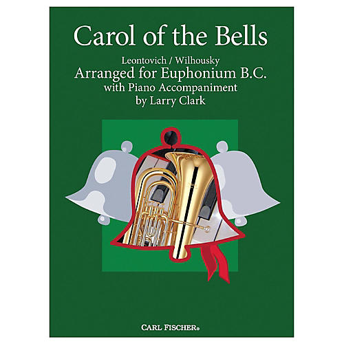Carl Fischer Carol Of The Bells - Baritone B.C.With Piano Accompaniment-thumbnail