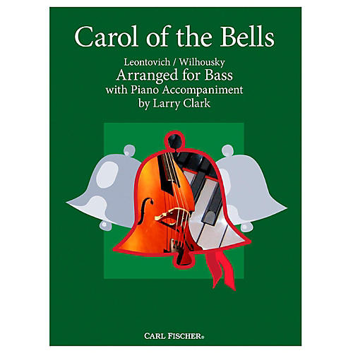 Carl Fischer Carol Of The Bells - Bass With Piano Accompaniment