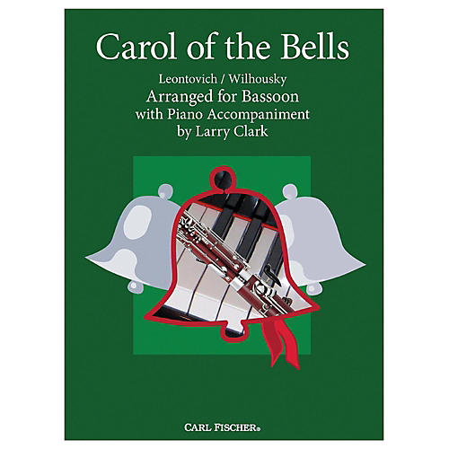 Carl Fischer Carol Of The Bells - Bassoon With Piano Accompaniment-thumbnail