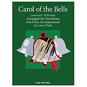 Carl Fischer Carol Of The Bells - Trombone With Piano Accompaniment