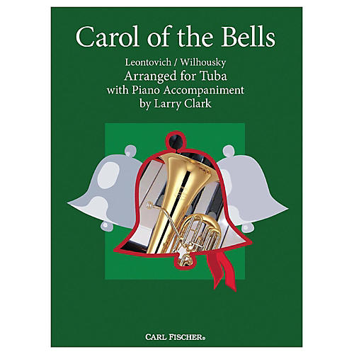 Carl Fischer Carol Of The Bells - Tuba With Piano Accompaniment-thumbnail