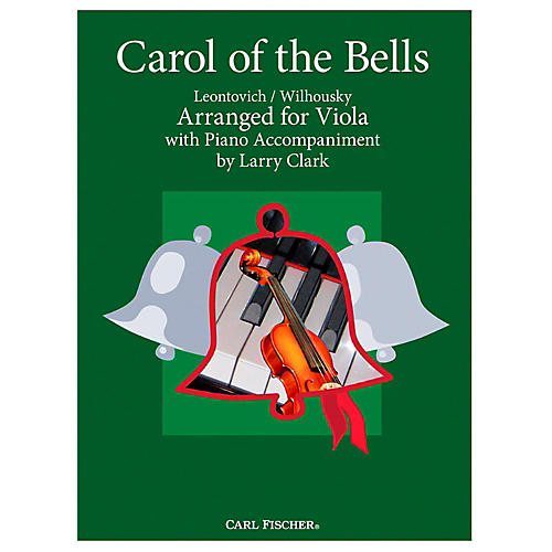 Carl Fischer Carol Of The Bells - Viola With Piano Accompaniment