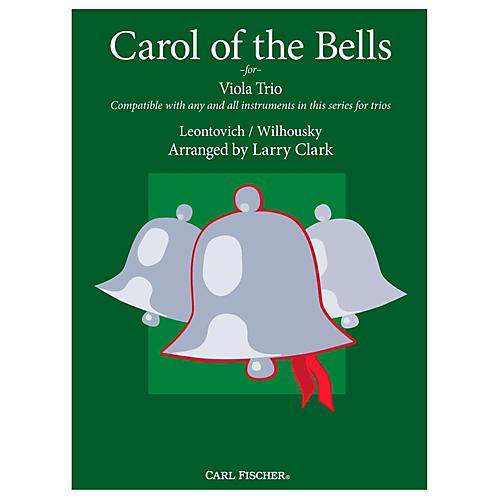 Carl Fischer Carol of the Bells Comp-Vla