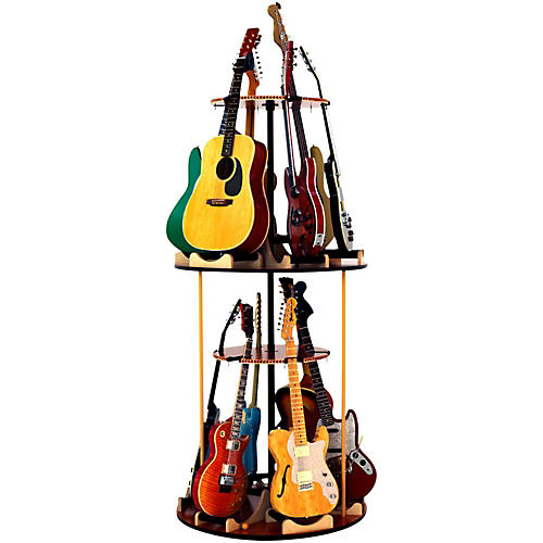 A&S Crafted Products Carousel Deluxe Multi-Guitar Stand Combined Unit-thumbnail