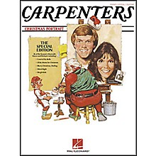 Hal Leonard Carpenters - Christmas Portrait Piano, Vocal, Guitar Songbook