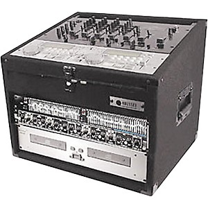 Odyssey Carpeted Combo Mixer Rack Case by Odyssey