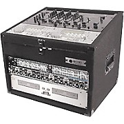 Odyssey Carpeted Combo Mixer Rack Case